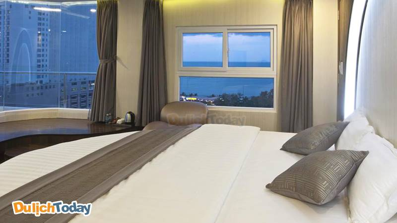 New Sun có phong cách phòng ngủ hiện đại