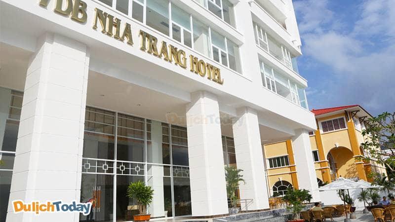 VBD Nha Trang hotel tọa lạc trên đường Phạm Văn Đồng
