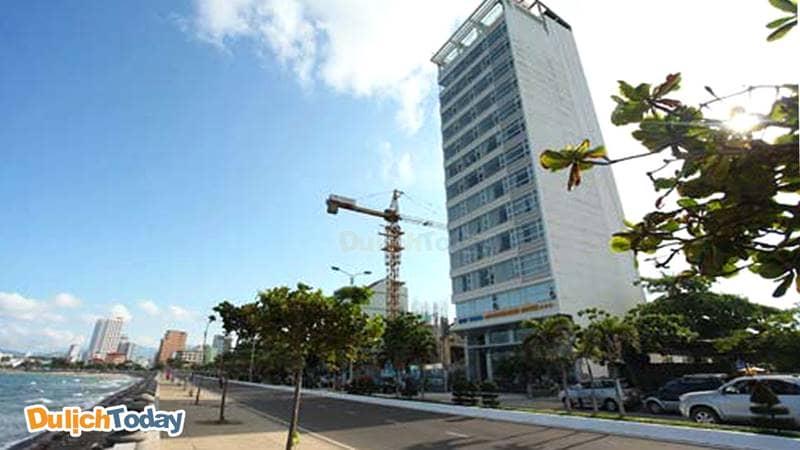 Khách sạn Wonderland Nha Trang nằm ngay sát biển Nha Trang