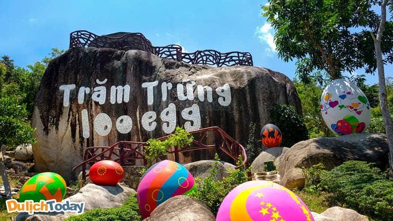 Khu du lịch Trăm Trứng tại Nha Trang