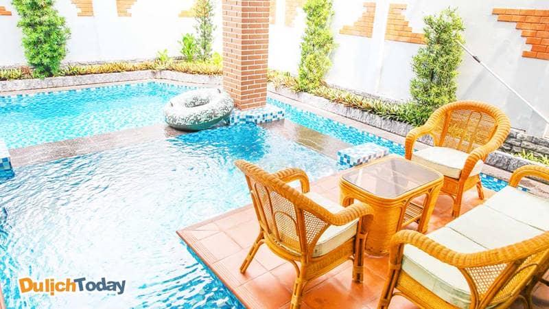 Bể bơi tại Lavender Villa 3, Vũng Tàu