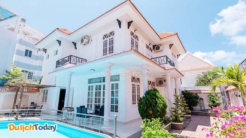 Toàn cảnh biệt thự Lavender Villa 7, Vũng Tàu