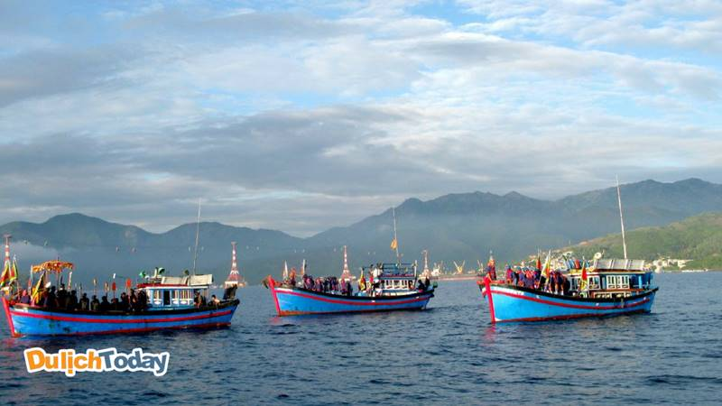 Lễ hội Cầu Ngư ở Nha Trang là hoạt động văn hóa nổi bật của tỉnh được diễn ra trong năm
