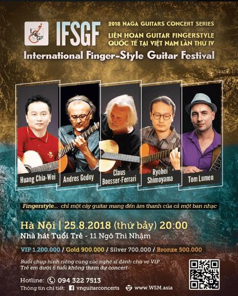 Liên hoan Guitar Fingerstyle Quốc Tế lần thứ IV tại Việt Nam