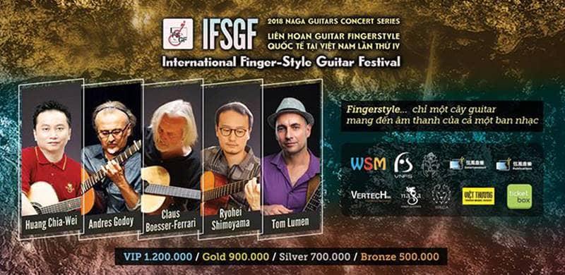 Liên hoan Guitar Fingerstyle Quốc Tế tại Việt Nam lần thứ IV