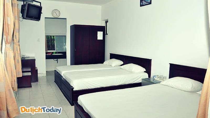 Dù không quá cầu kỳ, nhưng mỗi căn phòng luôn được giữ sạch sẽ nhất, tạo thiện cảm với khách