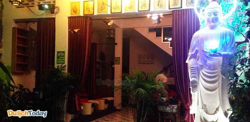Manu Spa Nha Trang có thiết kế thể hiện nét văn hóa Thái và phật giáo