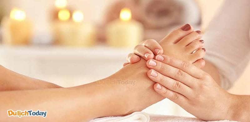 Massage chân tại Orchid Spa có nhiều lựa chọn với giá rẻ và chất lượng tốt