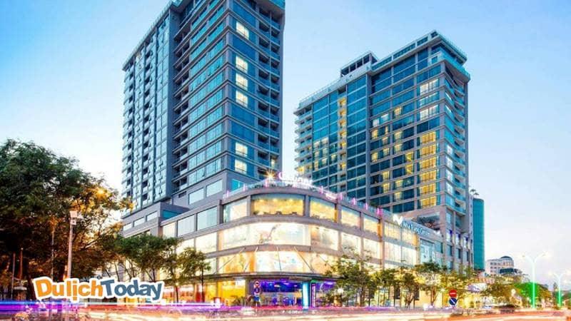 Trung tâm thương mại Nha Trang center là khu phức hợp giữa trung tâm mua sắm và khách sạn cao cấp