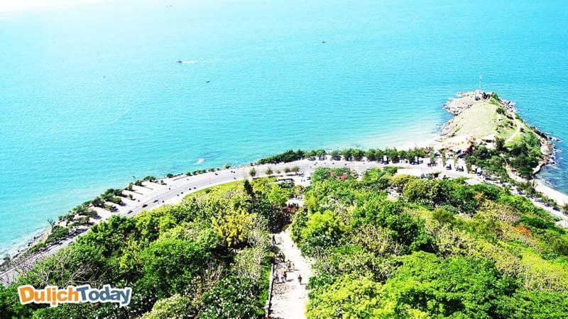 Xung Mũi Nghinh Phong đều là biển