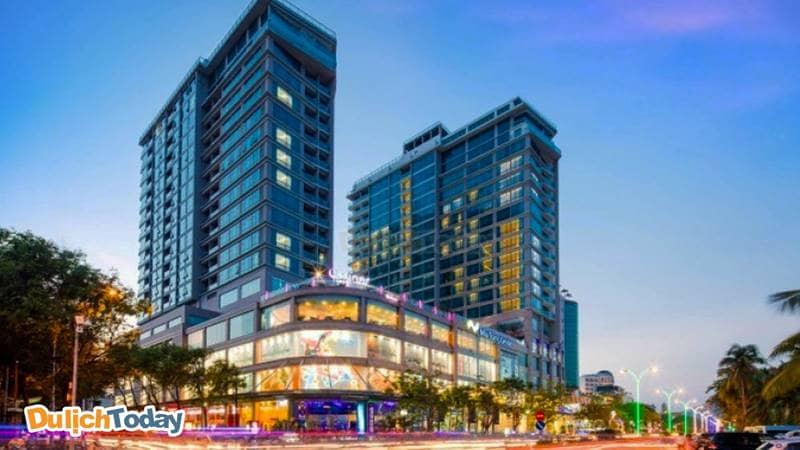 Diamond bay hotel phức hợp với trung tâm thương mại Nha Trang center