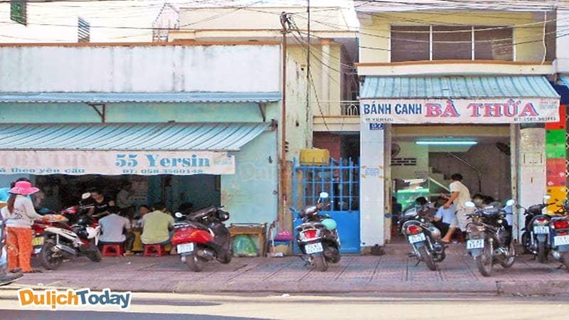 Bánh Canh Bà Thừa tại địa chỉ 55 Yersin Nha Trang