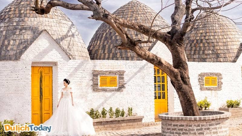 Phim trường Santorini mang phong cách Địa Trung Hải