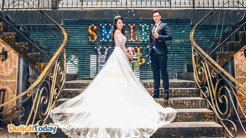 Các cặp đôi sẽ có những bức ảnh siêu đẹp tại Smiley Ville