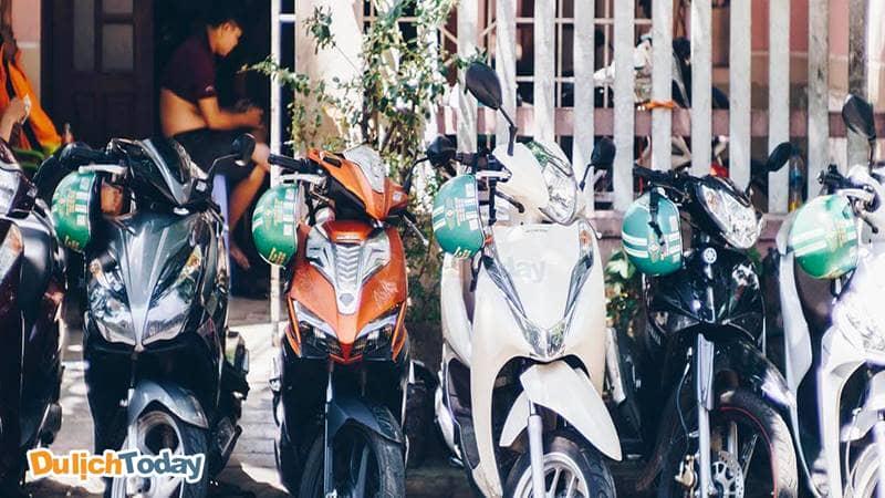 Có nhiều loại xe khác nhau cho bạn lựa chọn khi thuê xe máy ở Nha Trang