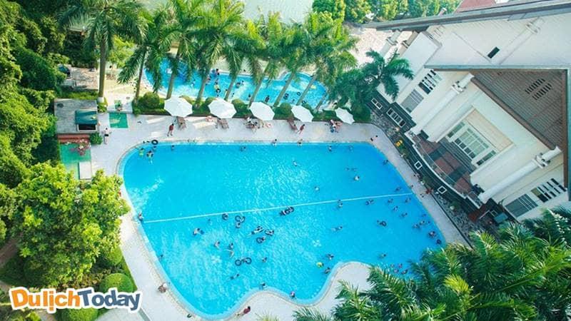 """Sông Hồng Resort thực sự là một địa điểm gần Hà Nội """" không nên bỏ lỡ"""" vào mùa hè này"""