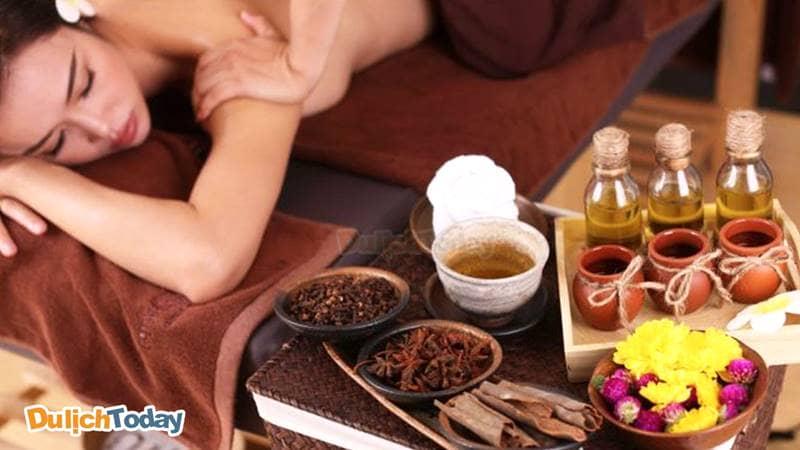 Phương pháp làm đẹp bằng thảo dược ưu tiên được sử dụng tại Sứ spa Nha Trang