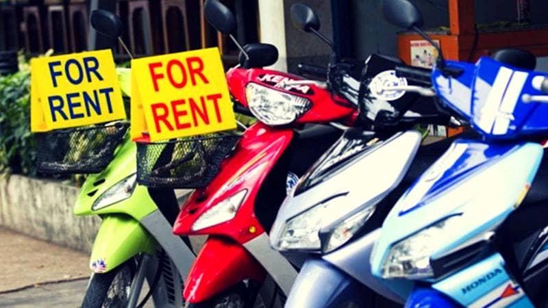 Bình cho thuê xe máy cam kết không tăng giá dịp lễ tết