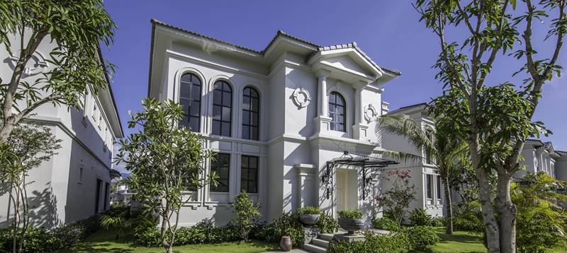 Chuỗi villa tại Vinpearl Resort & Spa Long Beach hơi hướng phương Tây - hiện đại và thơ mộng