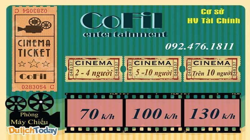 """Cafe Film Cofi là địa điểm xem phim chất lượng với """"giá sinh viên"""""""