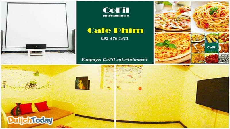 Cofi - Coffee & Film sự kết hợp hoàn hảo cho một địa điểm giải trí thư giãn cuối tuần