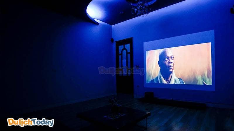 Phòng phim chuẩn rạp tại hệ thống Cafe phim T-Box 3D