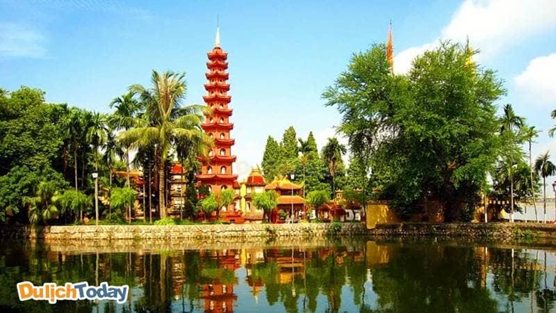 Chùa Trần Quốc - Ngôi chùa cổ nhất Hà Nội và được tôn vinh là một trong những ngôi chùa đẹp nhất thế giới