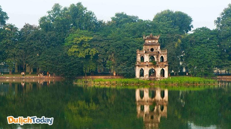 Tháp Rùa Hồ Gươm - Biểu tượng của Thủ Đô Hà Nội