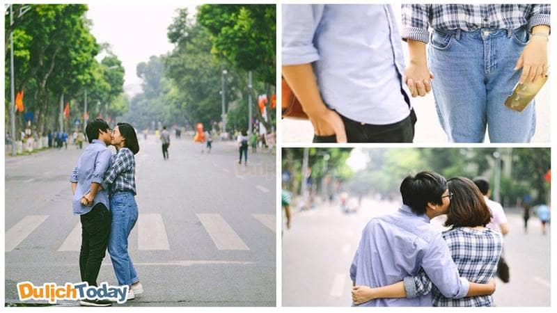 Phố đi bộ - địa điểm hẹn hò Hà Nội lãng mạn ngày cuối tuần
