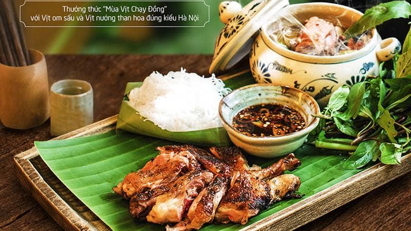 Quán Ăn Ngon - địa điểm hẹn hò Hà Nội cho những người yêu thích ẩm thực truyền thống