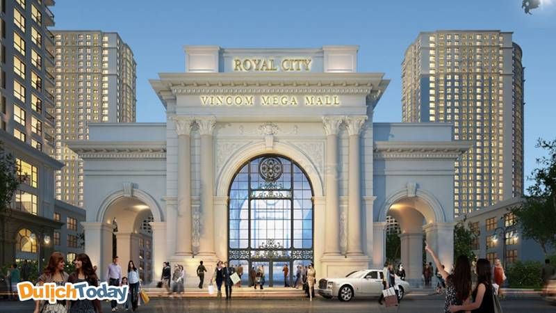 Royal City - TTTM và giải trí dưới lòng đất lớn nhất châu Á