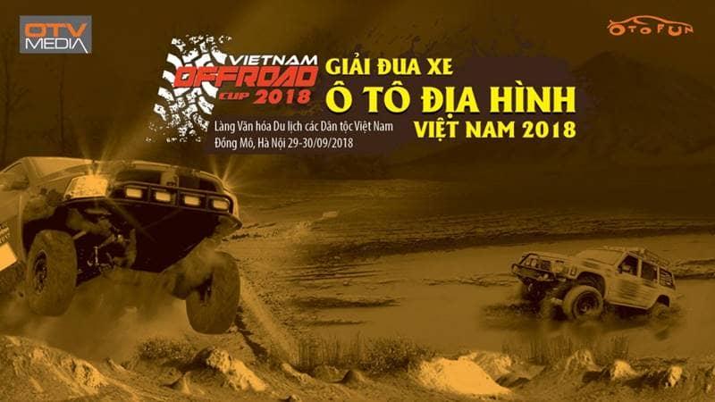 Giải đua xe ô tô địa hình Việt Nam 2018 - VietNam Offroad Cup 2018
