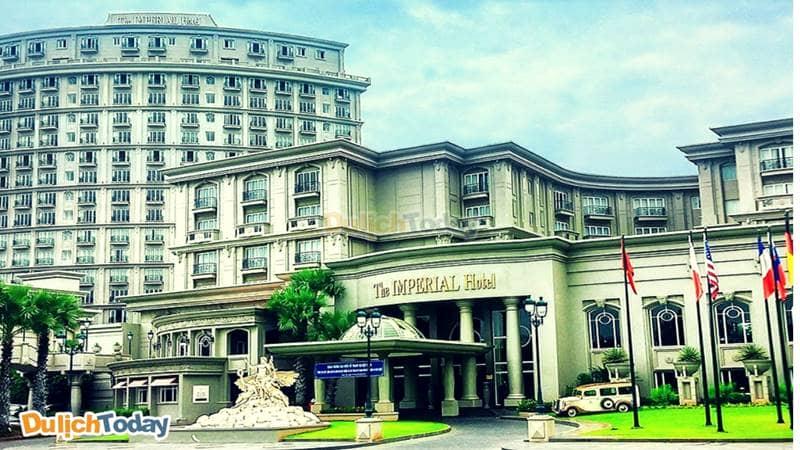 Đây là khách sạn bãi Sau Vũng Tàu 5 sao duy nhất mang kiến trúc đậm dấu ấn Pháp thời kìphục hưng