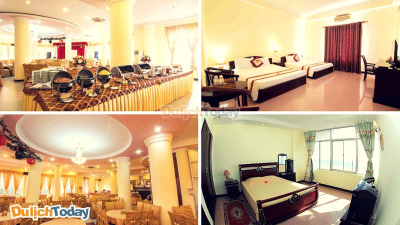Phòng nghỉ của khách sạn luôn sạch sẽ, rộng rãi, thoáng mát và đón ánh sáng