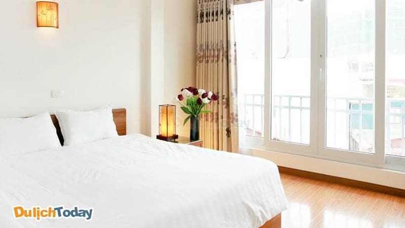 Phòng Deluxe giường đôi có view thành phố tại Especen Hotel