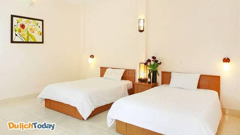 Phòng Deluxe 2 giường đơn tại Especen Hotel