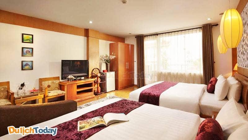 Phòng gia đình tại Golden Palace Hotel