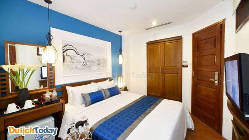 Phòng Deluxe giường đôi tại Hanoi Avatar Hotel