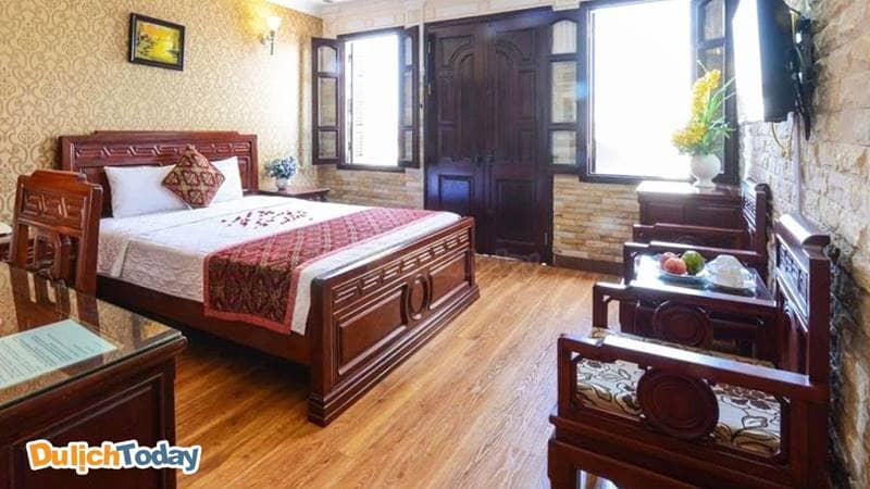 Phòng đôi dành cho 2 người tại Little Diamond Hotel Hanoi