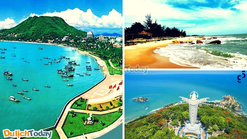 Các bãi tắm nổi tiếng có nhiều khách sạn tại Vũng Tàu