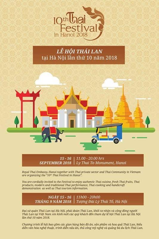 Ngày hội Thái Lan tại Hà Nội - Thai Festival 2018