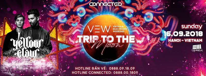 Vietnam Electronic Weekend 2018 – Trip To The Moon