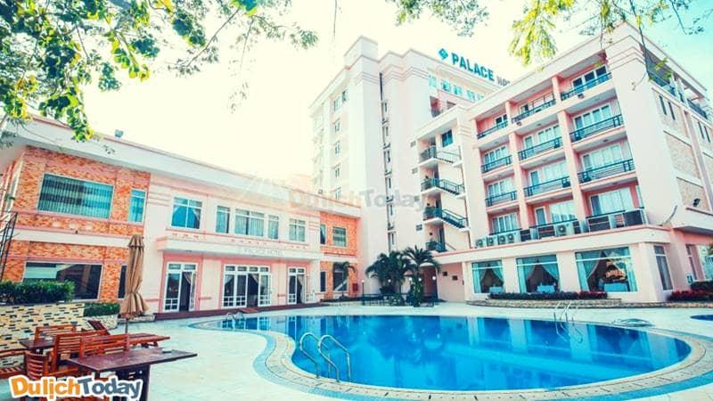 Khách sạn Palace một trong những khách sạn 4 sao ở Vũng Tàu đầu tiên tại bãi Bãi Trước