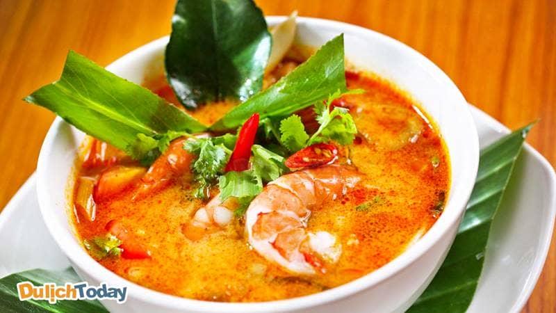 Bún riêu tôm món ăn sáng nức tiếng tại Vũng Tàu