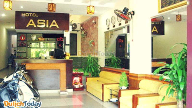 Khách sạn Asia với thiết kế đơn giản thân thiện