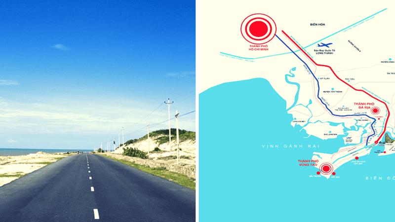 Nếu đi bằng xe máy bạn sẽ được thưởng ngoạn cung đường sát biển vô cùng tuyệt đẹp này