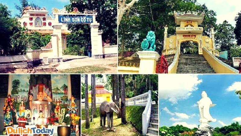 Linh Sơn Cổ Tự - ngôi chùa cổ nhất Vũng Tàu