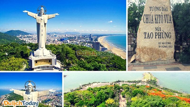 700 bậc thang lên đỉnh núi Tao Phùng nơi có tượng chúa Kitô - biểu tượng của thành phố biển Vũng Tàu
