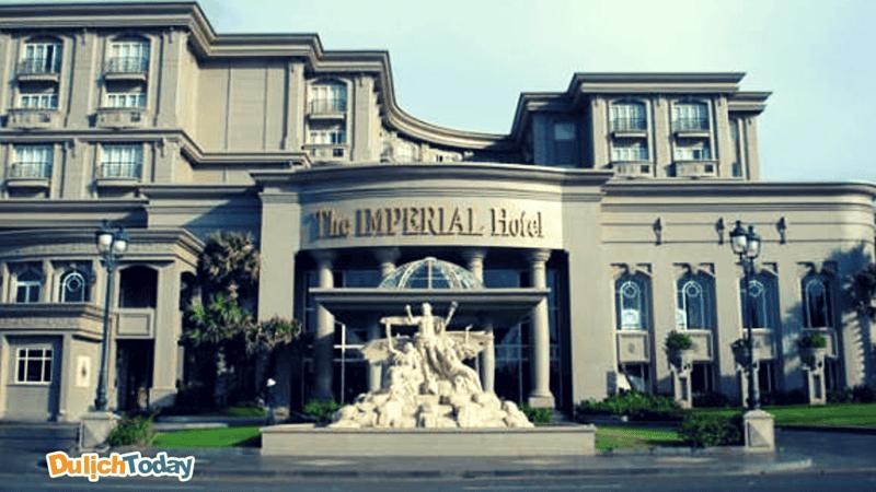 Imperial là khách sạn 5 sao cao cấp bậc nhất không chỉ Bãi Sau mà cả thành phố Vũng Tàu