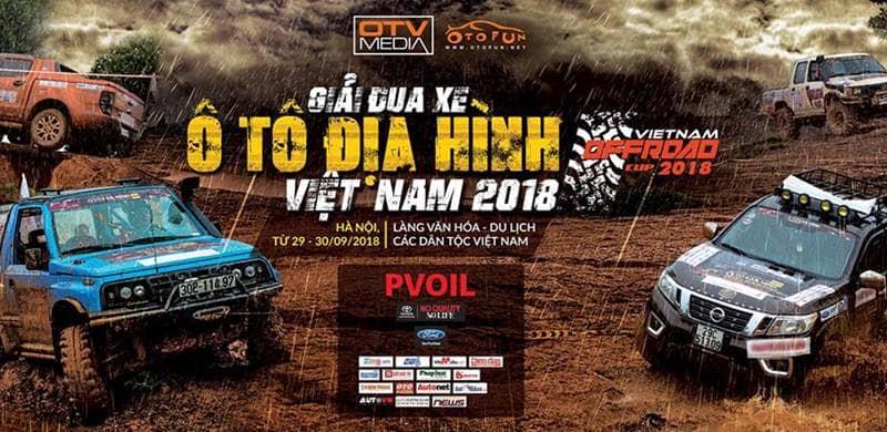 Giải đua xe ô tô địa hình Việt Nam - VOC 2018